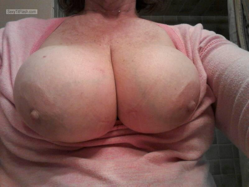 Very big Tits Of My Girlfriend Selfie by Sweet Tits